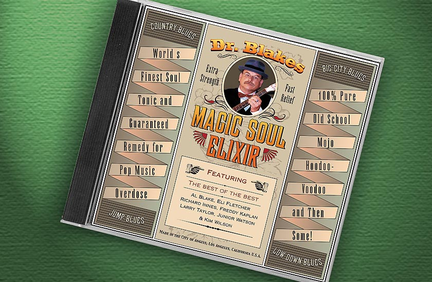 Al Blake CD Packaging