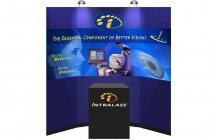 IntraLase Portable Exhibit Graphics
