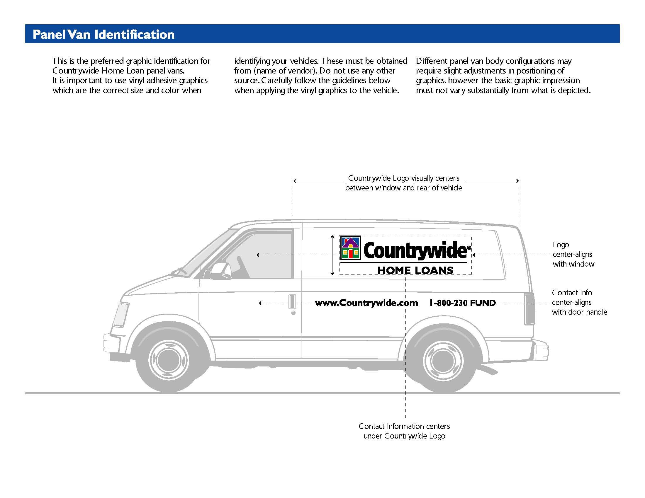 Countrywide Vehicle Graphic Standards